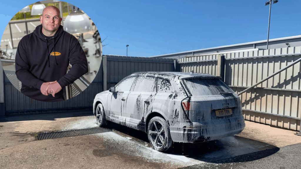 Lee Butterworth, of Xtreme Fitness, is launching a car wash