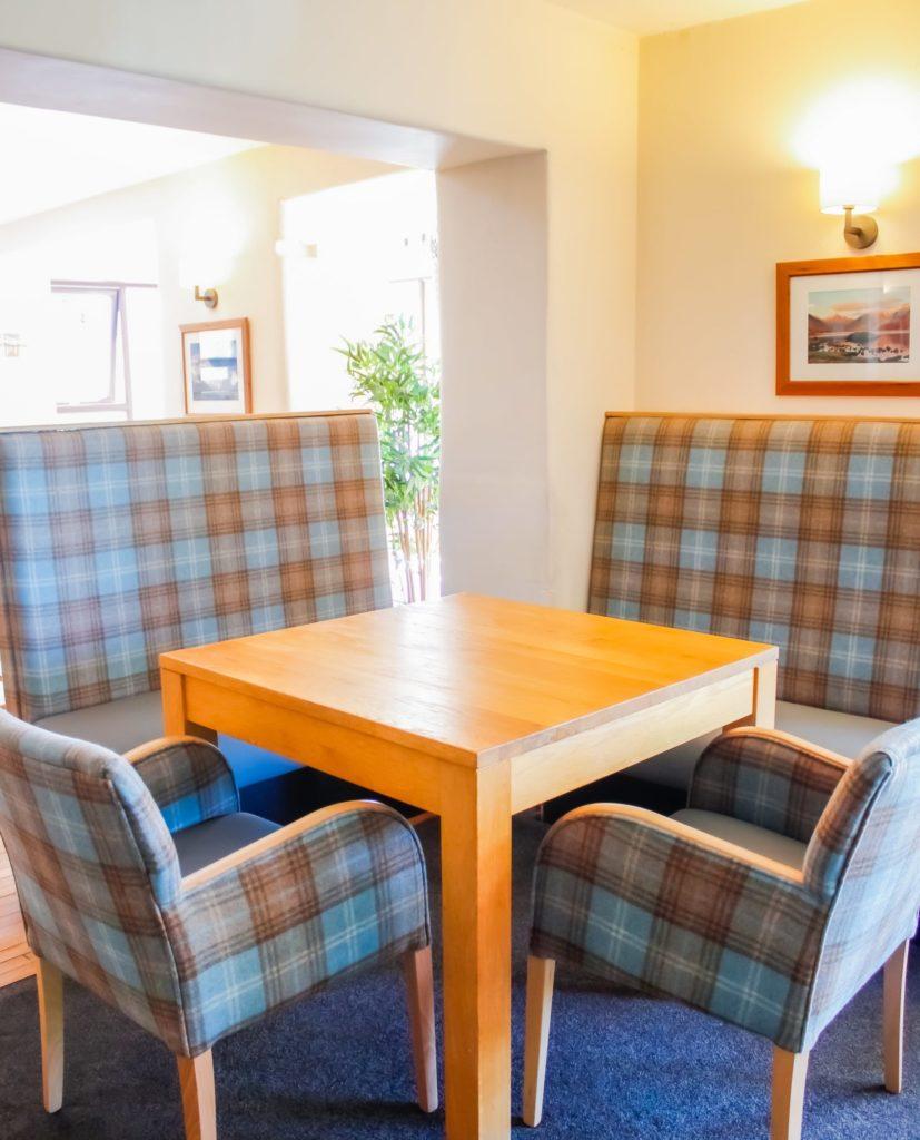 New look interiors at the Embleton Spa Hotel, near Cockermouth, Cumbria