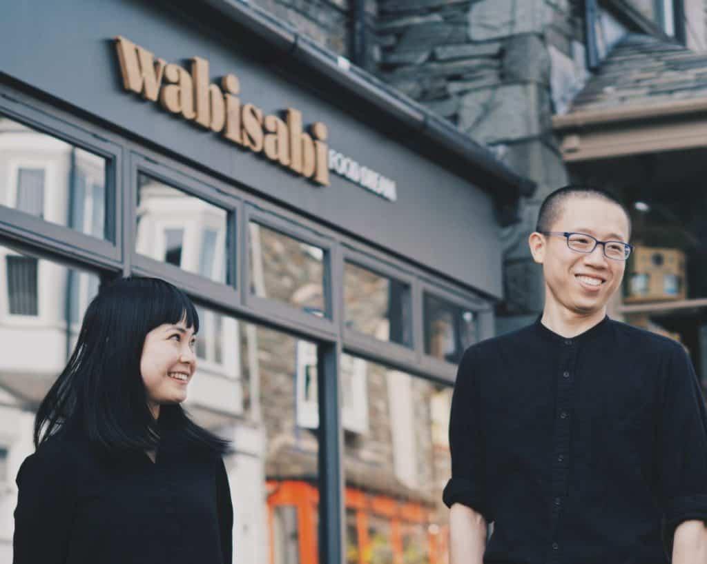 Bing Cao and his wife, Cara Ou, of Wabi Sabi