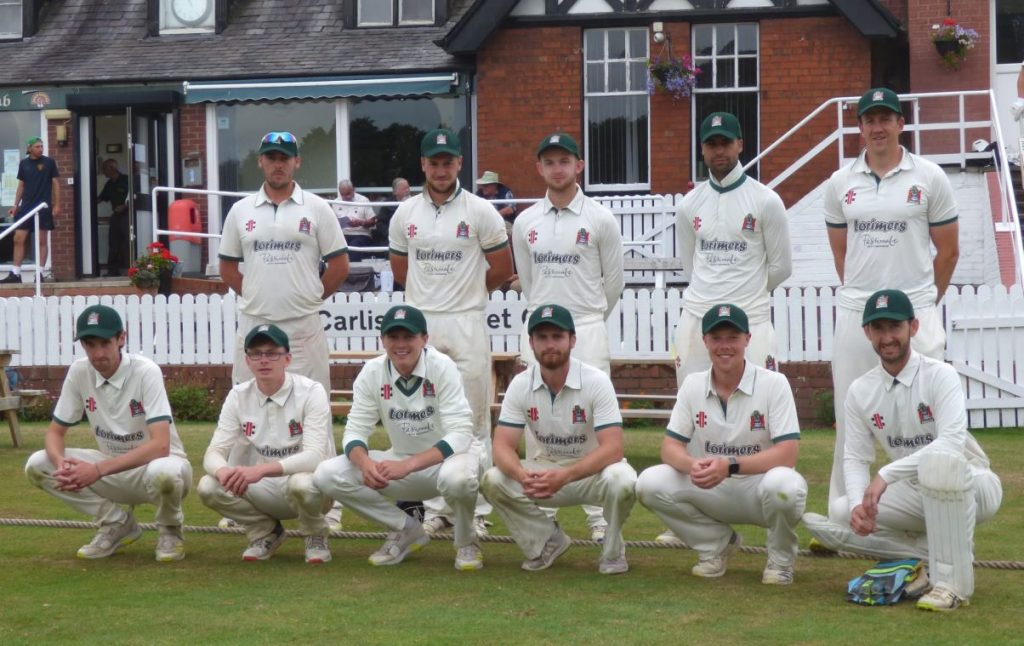 Cumbria have been set 261 to beat Berkshire and win the NCCA Trophy at Wormsley.