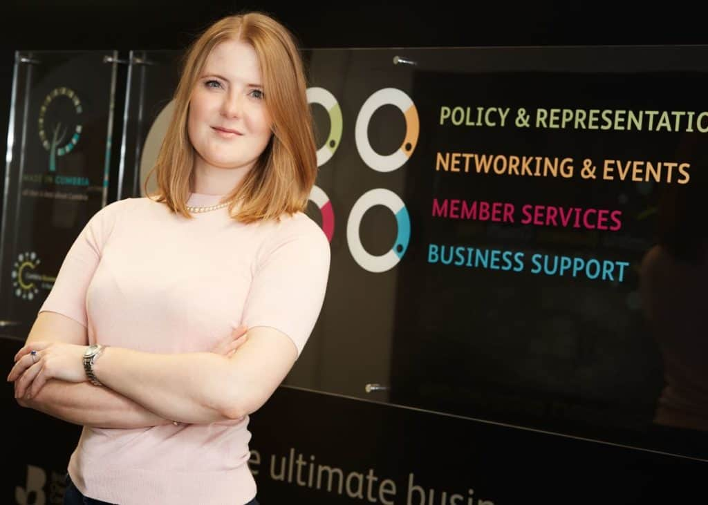 Cumbria Chamber says there are hundreds of roles for young people in Cumbria yet to be filled.