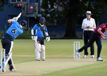 Joe Grisedale and Geeth Kumara stabilised Keswick's faltering innings. Picture: Ben Challis