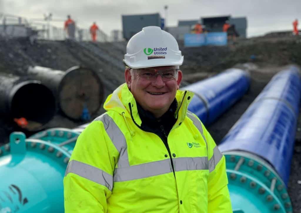 John Hilton of United Utilities