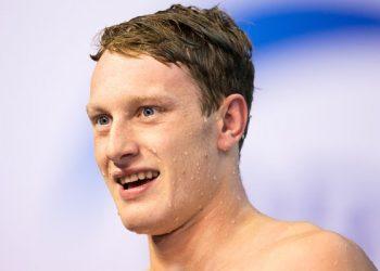 Luke Greenbank. Picture: British Swimming