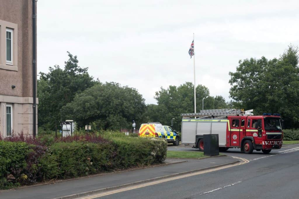Investigations are ongoing after a suspicious letter was sent to a council building in West Cumbria.