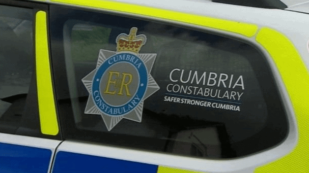 A pedestrian was assaulted by a cyclist after an altercation in Carlisle.