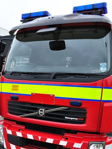 Firefighters rescued a casualty who was suffering from a panic attack in Cartmel.