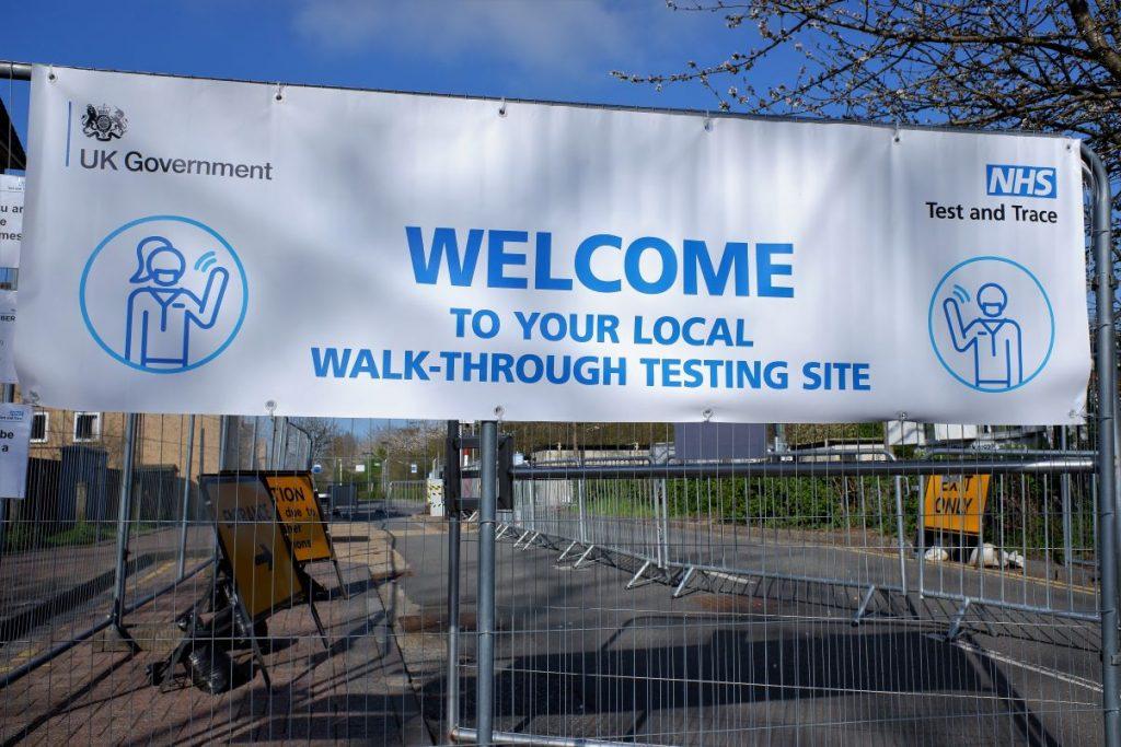 A new walk-through coronavirus centre has opened in Kendal.