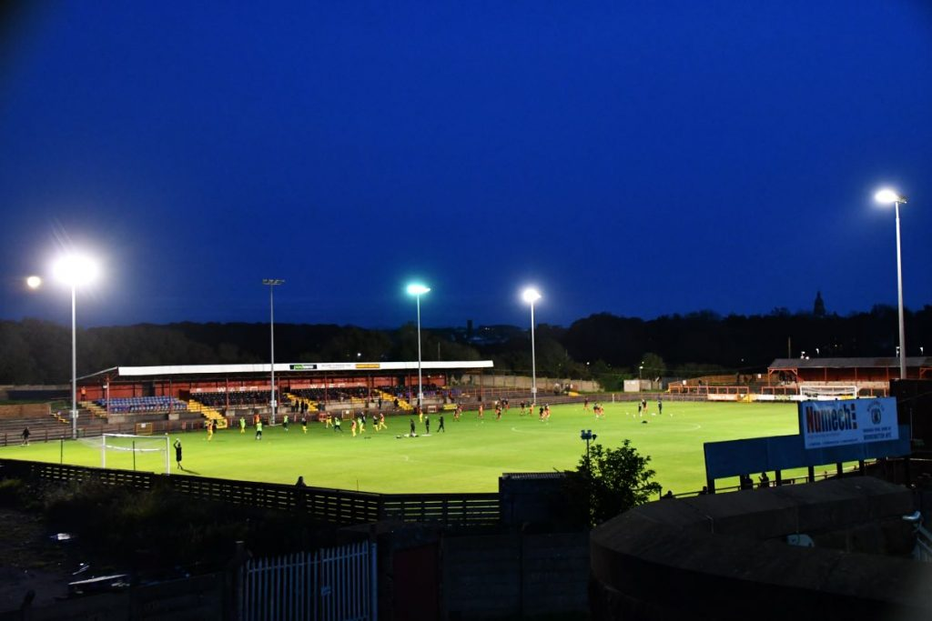Workington Reds youngsters made progress in the FA Youth Cup - but needed penalties to see off Bishop Auckland at Borough Park.