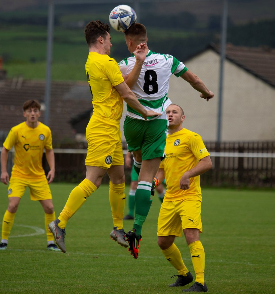 Cleator Moor Celtic lost the Cumbrian derby with Holker Old Boys after a dramatic finish to the contest.