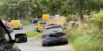 Two elderly tourists were taken to hospital after a crash in Bampton.  Emergency services attended atwo-vehicleincidentat the northern entrance to the villageyesterday at around 11.30am.  A blue Mazda driven by a 53-year-old man from Billingham was in a collision with a Yamaha motorcycle with two riders.