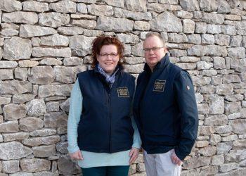 Geoff and Mary Monkman of Lakeland Artisan Ltd