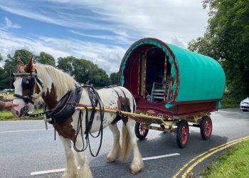 Appleby Horse Fair migration through South Lakeland begins