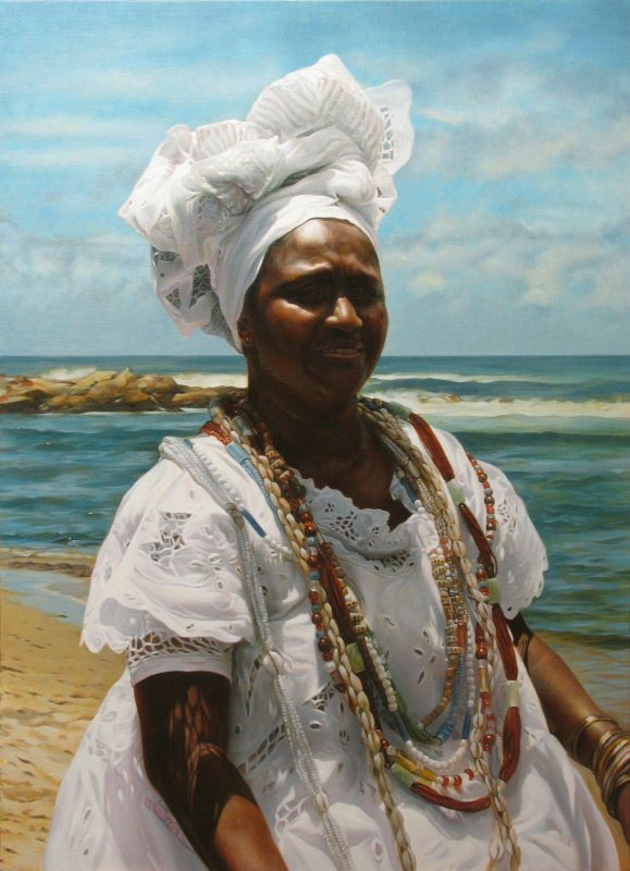 Kevin Chester 'Baiana' 91.7 x 66.5 cms Oil on linen (002)