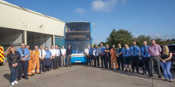 Touching tribute to Ray Jones, one of Stagecoach's longest-serving drivers