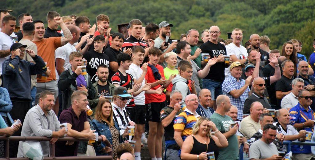 Whitehaven supporters enjoyed a fabuous win (Ben Challis)