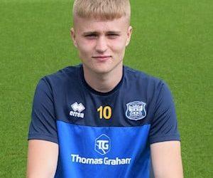 Sam Fishburn. Picture: Carlisle United