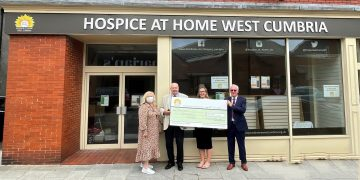 A vital West Cumbrian charity has received a generous grant of £13,000.