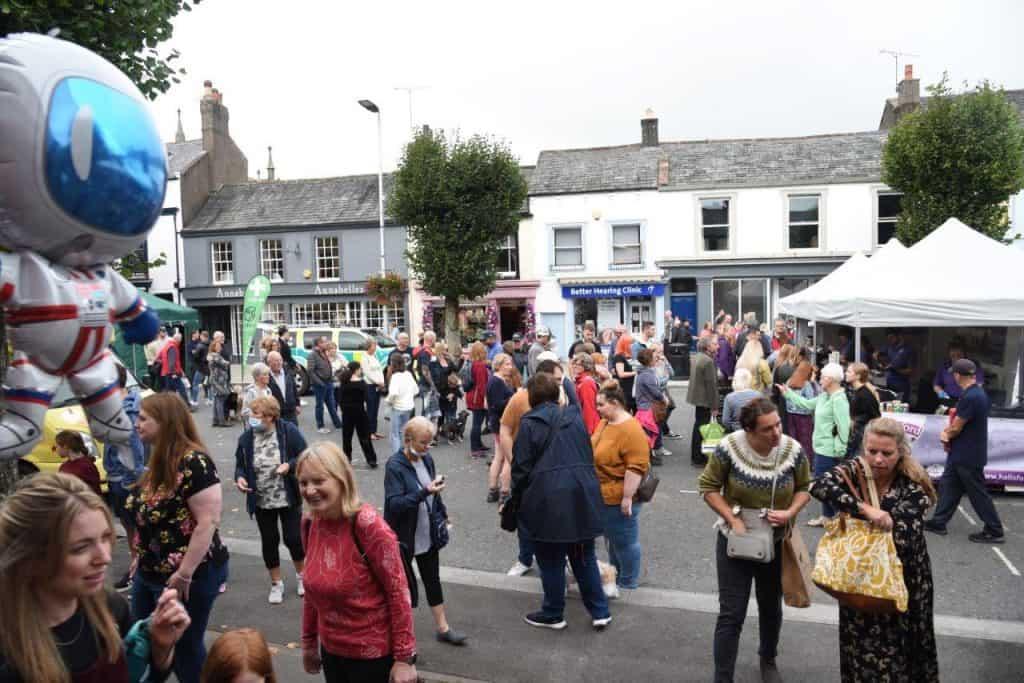 A busy Taste Cumbria