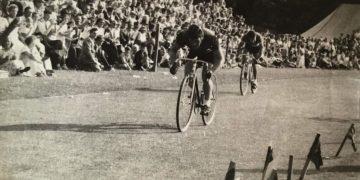 Alex Hendry at Keswick Sports in 1955