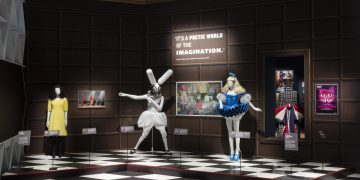 Alice Curiouser and Curiouser, May 2021, Installation Image (c) Victoria and Albert Museum, London