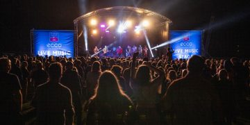 Bad Manners on stage at 2021 Keswick Mountain Festival -Picture Dougie Cunningham & Leading Lines