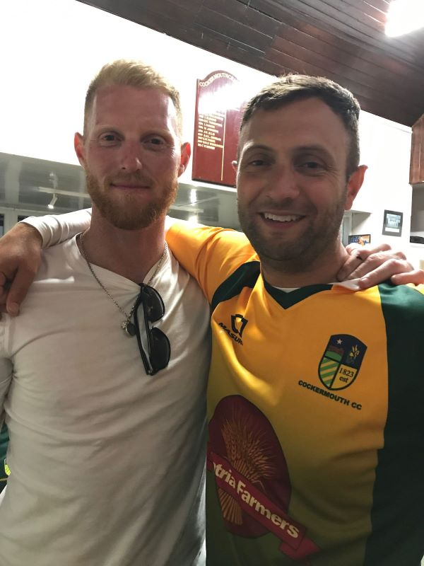 Ben Stokes and Gareth White
