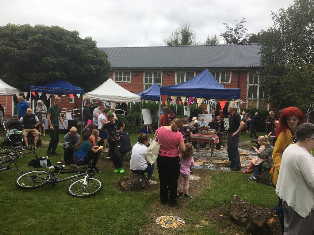 Hundreds of Brampton residents turned out to enjoy a grand day out at the town's community centre over the bank holiday weekend.