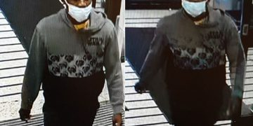 CCTV images released by police in connection with harassment incident