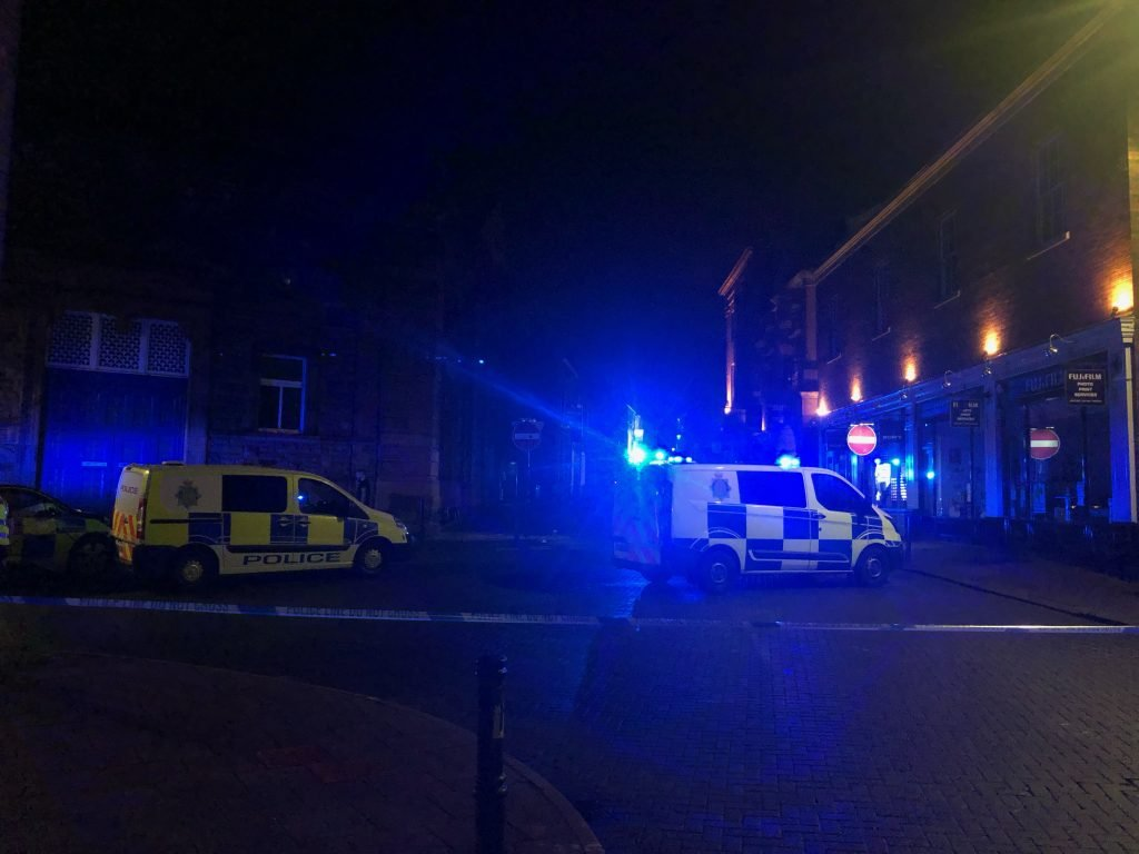 The public is being asked to avoid the area after an incident in Carlisle city centre.