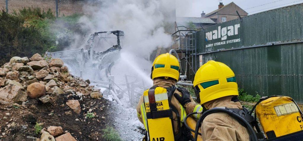 Cliburn fire 2