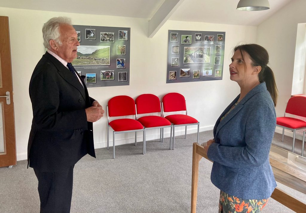 """Copeland MP Trudy Harrison has praised the """"can-do spirit"""" of a village's residents following the transformation of a 100-year-old community centre."""