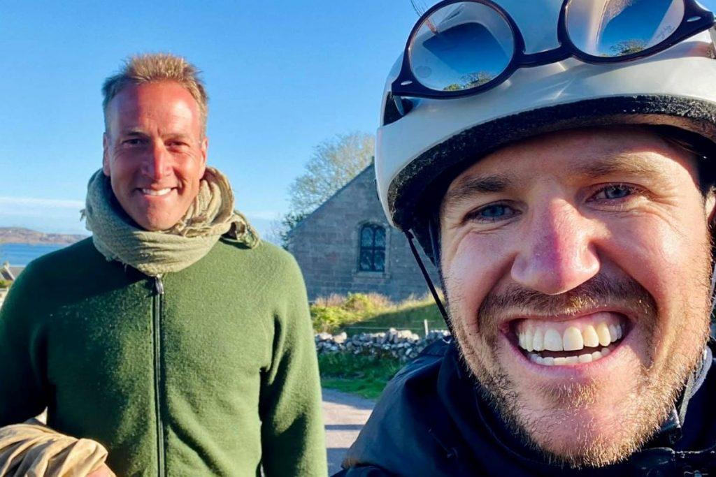 Dan Beaumont with Ben Fogle