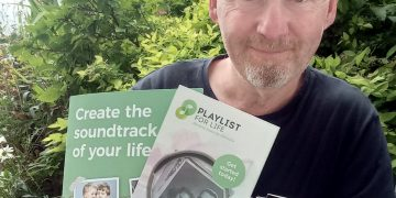 Mark Costello, local Playlist for Life organiser based in Carlisle
