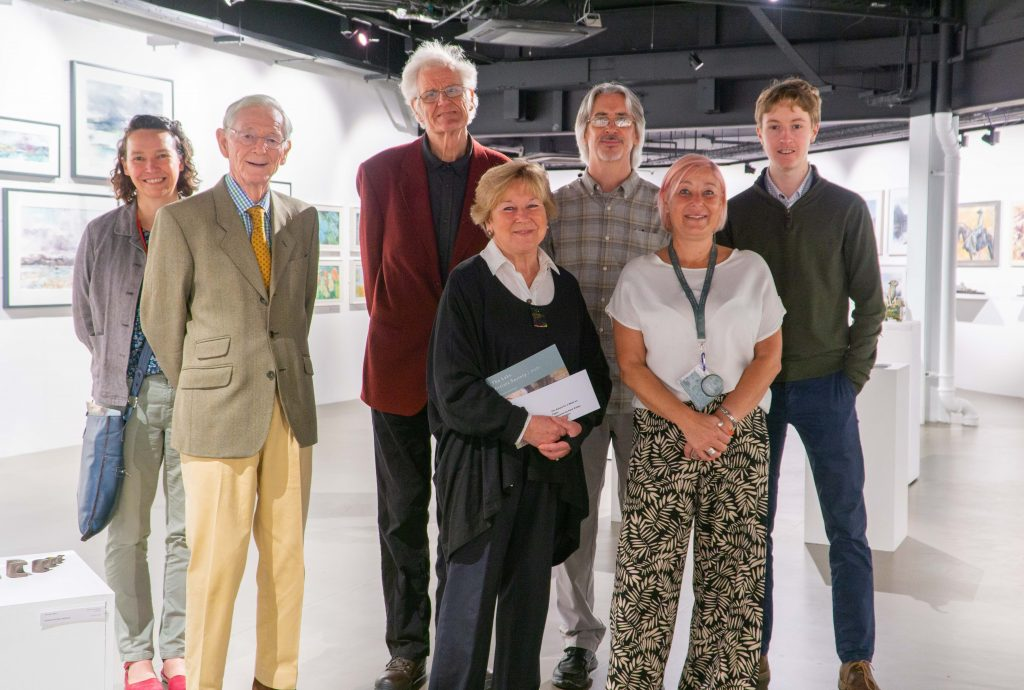 From left Claire Logan-Stephens, John Dunning, Edward Dawes, Lyn Evans, Kevin Chester, Claire Harrison and Justin Corbishley