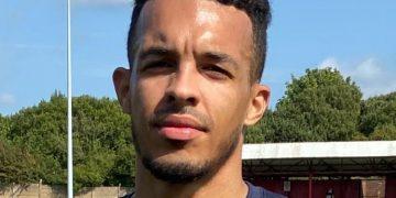 Workington Reds defender Kyle Harrison