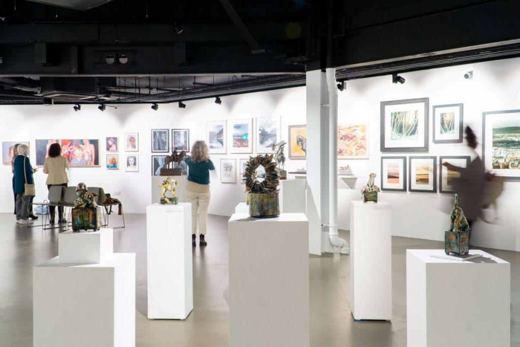 Lakes Artists Society show at Rheged