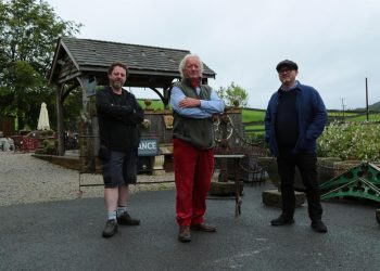 John Tee, Clive Wilson and Drew Pritchard