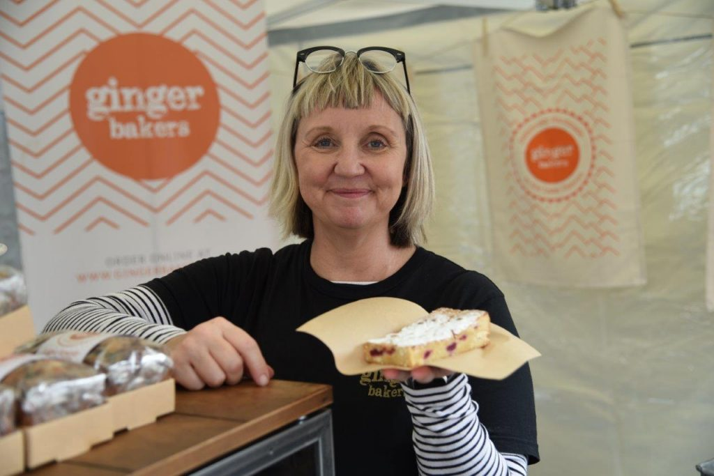Lisa Smith, of Ginger Bakers
