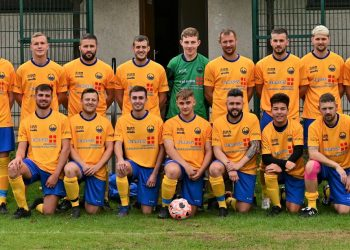 New League leaders Aspatria. Picture Martin Perry