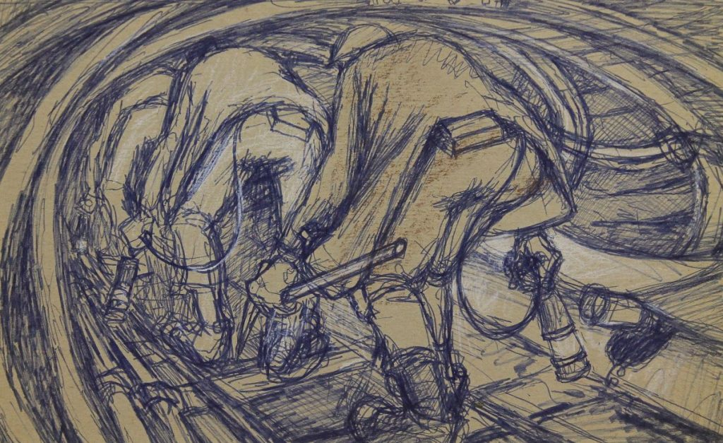 Norman Cornish - Going in Bye
