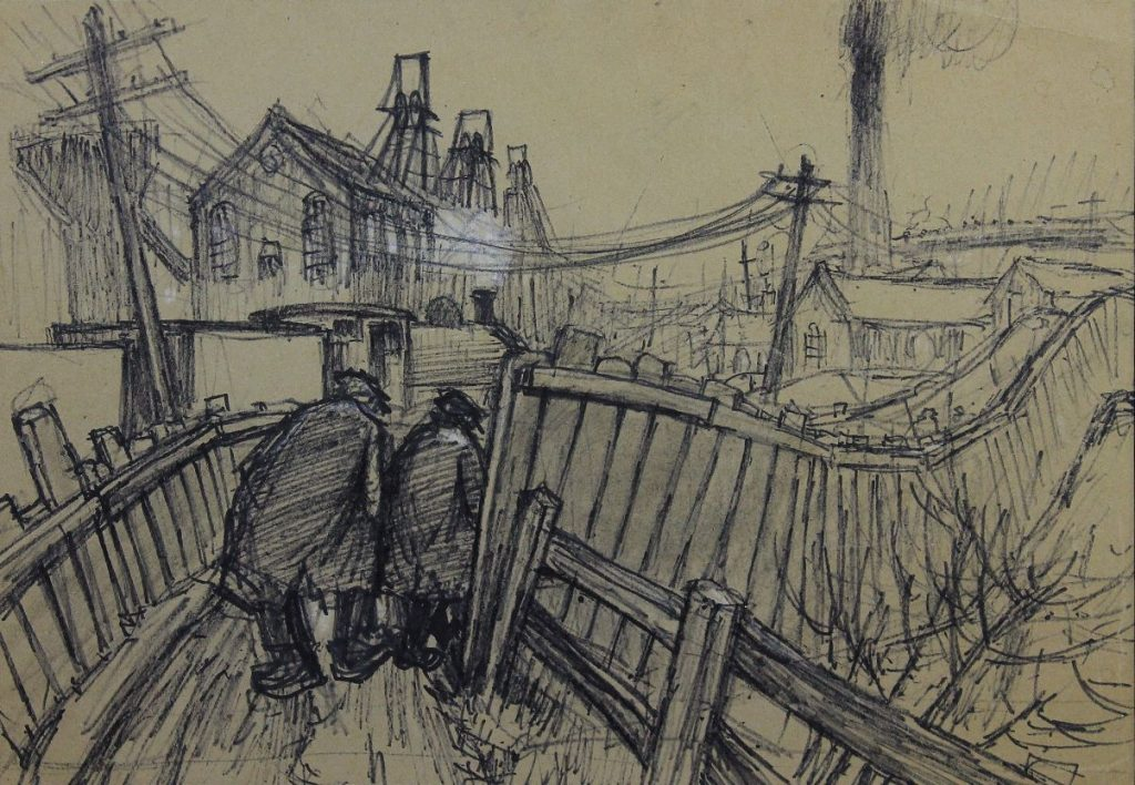 Norman Cornish - The Pit Road