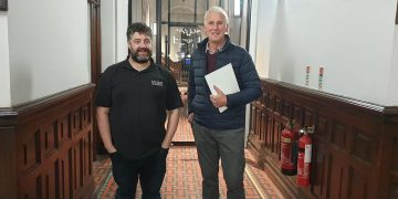 Phil Walker and Jonathan Cornthwaite after South Lakes by-election