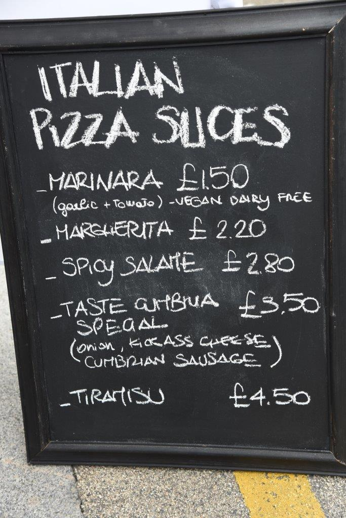 Pizza on offer from Fermento