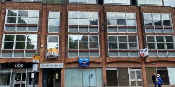 The former Royal Bank of Scotland branch on Castle Street, Carlisle