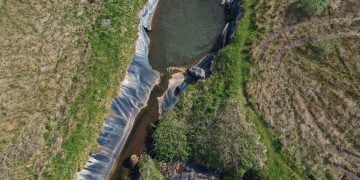 A major project to remove a 2.5 km plastic liner from the River Keekle near Whitehaven has been shortlisted for a prestigious national prize