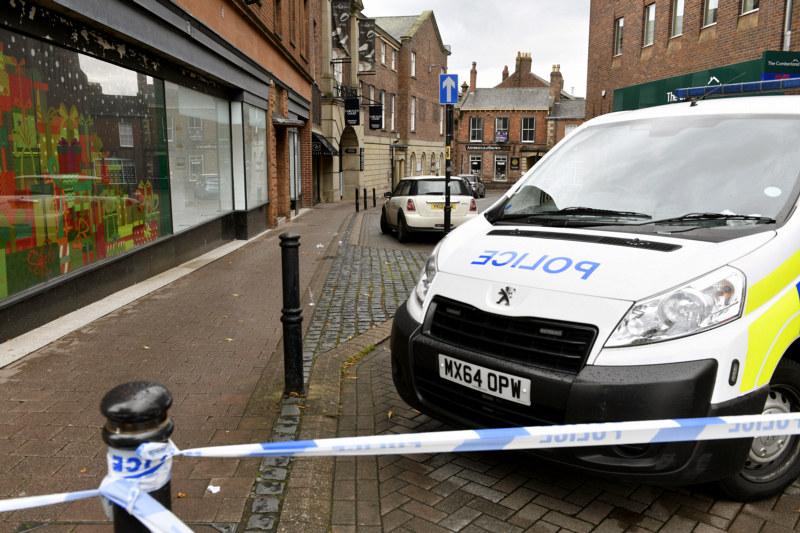 Police investigating the death of Ryan Kirkpatrick in Carlisle are urging anyone with dashcam footage who was driving in the city centre on Saturday night to come forward.
