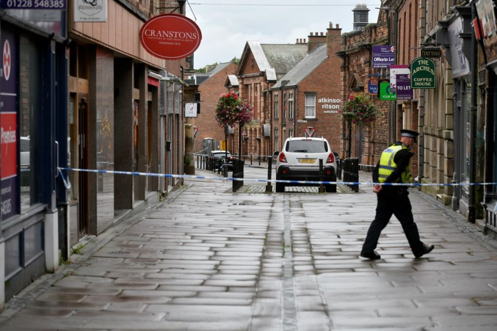 Detectives in Cumbria are being supported by two neighbouring forces as they continue their manhunt for two suspects they believe are responsible for the attack which killed a Carlisle man.