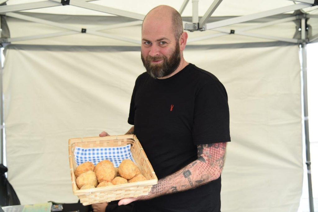 Scotch eggs - which sold out fast