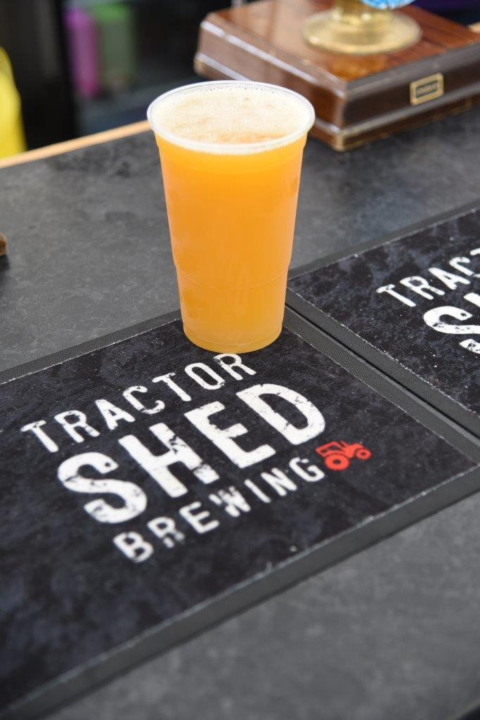 Seaton's Tractor Shed at the bar